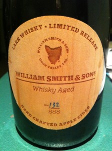 Whiskey Aged Apple Cider