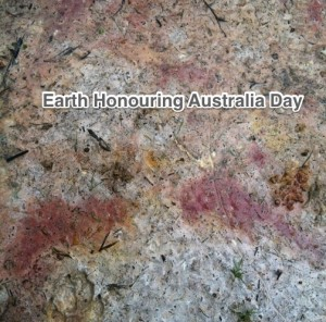Earth Honoring Australia Day