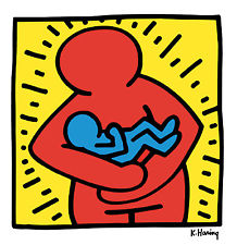 mother child haring
