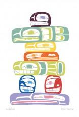 Inukshuk: From artist Ben Houstie's page on Cap & Winndevon